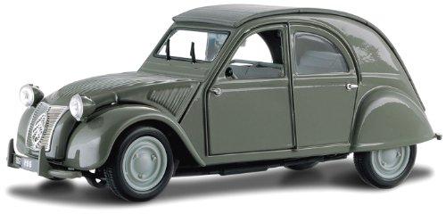 Bburago - 43203 - Véhicule Miniature - Modèle À L'échelle - 2 Cv - Echelle 1/32