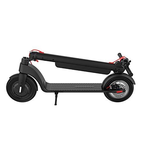 JLWDD Patinete Eléctricoplegable, 350 W Eléctrico Scooter, hasta 25 km/h, MAX Load 100kg para Corta Distancia, Adolescentes y Adultos