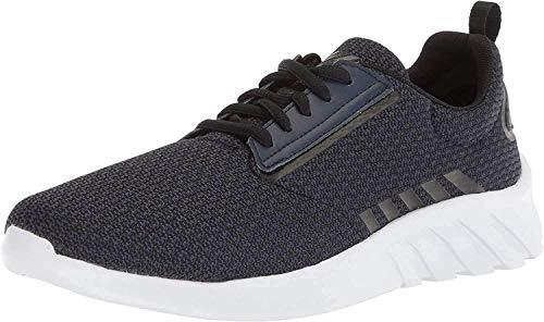 K-Swiss Herren Aeronaut Sneaker, Schwarz (Black Iris/Black/White), 46 EU