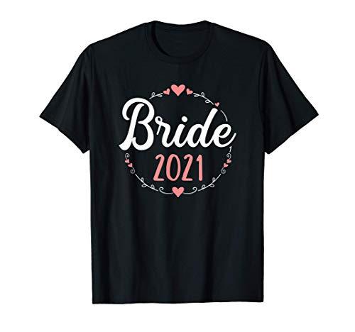 Novia 2021 despedida de soltera Camiseta