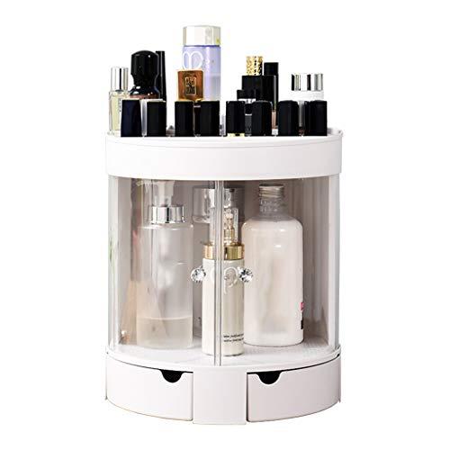 Preisvergleich Produktbild Transparente Kosmetische Aufbewahrungsbox Home Europäischen Staubdicht Desktop Schminktisch Lippenstift Hautpflegeprodukte Kunststoff Regal 24 * 28, 8 * 25, 8 cm