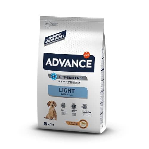 Advance Mini Light - Pienso Light para Perros De Razas Pequeñas - 7.5 Kg 7500 g