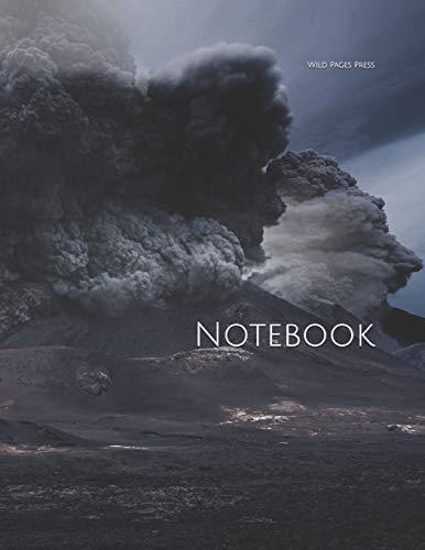 Notebook: volcano ash smoke eruption erupt lava magma crater basalt volcanic