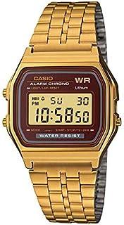 Relógio Casio Digital Vintage A159wgea-5df + Calendário, Alarme e Cronômetro