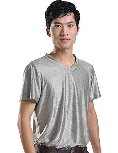 EMF Radiation Shield Men T-shirt by LVFEIER
