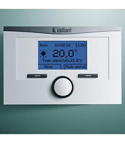 Vaillant 0020124486 Centralina Climatica Calormatic 450, Bianco