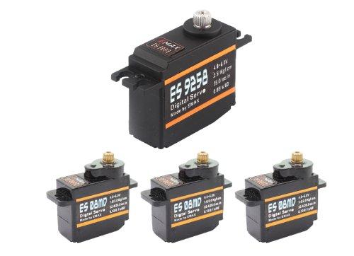 Emax 3x ES08MD 1x ES9258 Digital Metall Heli Servo Set T-REX 450 Pro CopterX