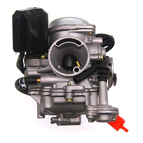 Atoparts 49cc Scooter Carburetor GY6 Four Stroke with Jet Upgrades