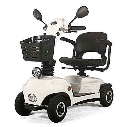 Scooter Senioren Falbar,e Rollstuhl Faltbar Leicht Elektrofahrzeug Quad,elektroroller Für Behinderte 140kg,elektroscooter Mit Strassenzulassung Elektromobile Für Senioren 9 Km/h Elektromobil / W