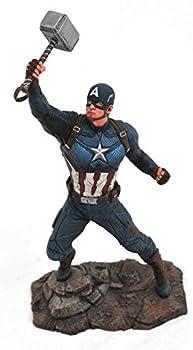 DIAMOND SELECT TOYS Marvel Gallery  Avengers Endgame  Captain America PVC Figure Multicolor
