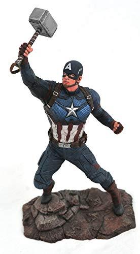 DIAMOND SELECT TOYS JUL192669 Marvel Gallery Avengers Endgame Captain America PVC Fig, Multicolor