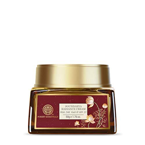 Forest Essentials Soundarya Radiance Cream with 24 Karat Gold & SPF 25-50g/1.7 oz. by Forest Essentials