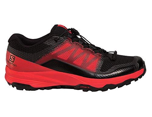 Salomon XA Discovery, Zapatillas de Trail Running para Hombre, Negro (Black/High Risk Red/Black), 40 2/3 EU