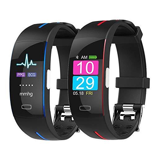 JBC Fitness Tracker, IP67 Wasserdichtes Smart Armband Mit PPG + ECG Photoelektrischer Elektrode Echtzeit Überwachung Schlaf Monitor Kalorienzähler Uhr Für Kinder Frauen Männer