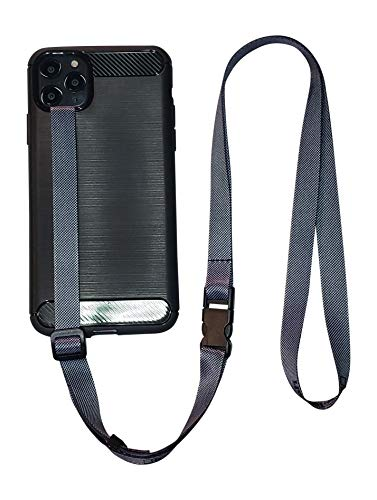 foneleash 3 in 1 Universal Cell Phone Lanyard Neck Wrist and Hand Strap Tether (Shady of Gray)
