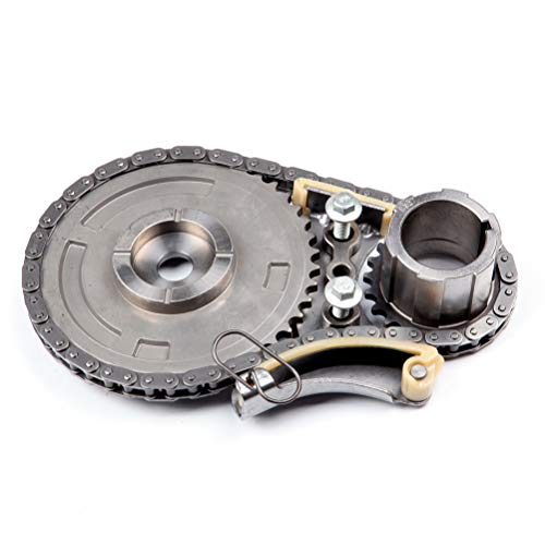 BCtimingparts Timing Chain Kit Compatible for Buick LaCrosse for Cadillac CTS for Chevy Avalanche 6.0L 6.2L 5.3L 2008 2009 9-5490 TK3160