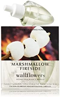 【Bath&Body Works/バス&ボディワークス】 ルームフレグランス 詰替えリフィル(2個入り) マシュマロファイヤーサイド Wallflowers Home Fragrance 2-Pack Refills Marshmallow Fireside [並行輸入品]