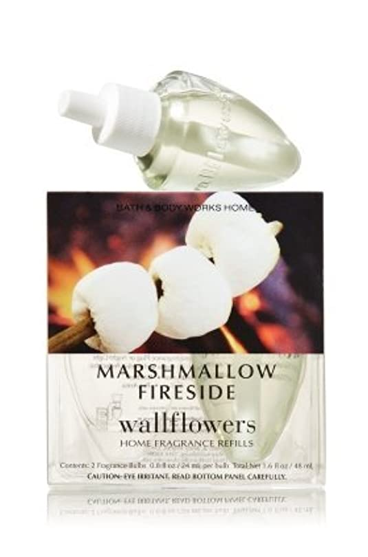 ドリルアスレチック免除【Bath&Body Works/バス&ボディワークス】 ルームフレグランス 詰替えリフィル(2個入り) マシュマロファイヤーサイド Wallflowers Home Fragrance 2-Pack Refills Marshmallow Fireside [並行輸入品]