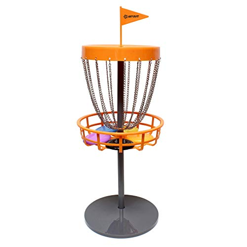 Disc Golf Basket Portable Metal Disc Golf Target Flying Disc Golf Practice Basket Indoor & Outdoor