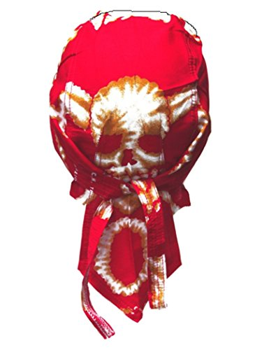 armardi b Bandana casquette Tête de Mort Rose