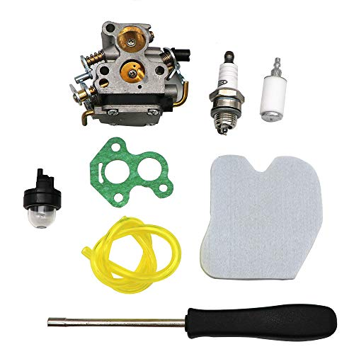 kipa Carburetor Maintence Kit for Husqvarna 235 235E 236 236E 240 240E Chainsaw Jonsered CS2234 CS2238 CS2234S CS2238S Replace 574719402 545072601 with Carburetor Adjusting Screwdriver Gasket