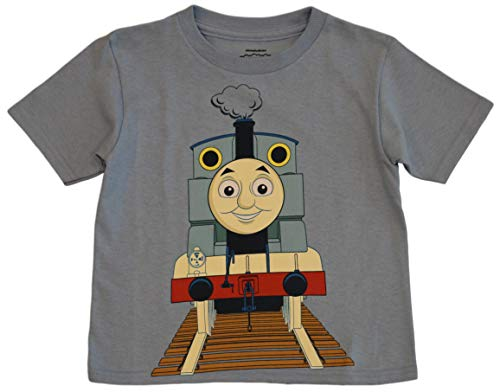 Thomas the Tank and Friends Little Boys' Toddler Thomas The Tank Engine Tee (4T) Light Blue