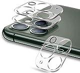 GSY Kamera-Objektivschutz, kompatibel mit iPhone 12 Pro, ultraklar, dünn, gehärtetes Glas, kratzfest, vollständige Abdeckung (iPhone 12 Pro-transparent), 3 Stück