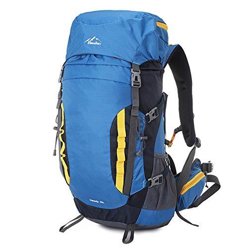 weike Zaino da Escursionismo, 45 l, Impermeabile, da Viaggio, Trekking, Alpinismo, Campeggio, per Uomini, Donne, Sport all'Aria Aperta, Viaggi
