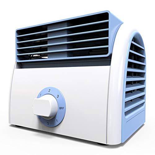 Personal del refrigerador de aire acondicionador de aire portátil, de escritorio mini ventilador de refrigeración, personal de escritorio pequeño ventilador de refrigeración Unidad, 3 velocidades.Tran