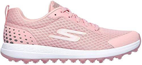 Skechers Damen Max Fairway 2 Spikeless Mesh-Golfschuhe - Light Rosa - UK 8
