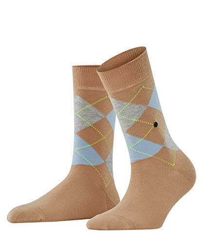 Burlington Damen Queen Socken, Blickdicht, beige (Ginger 4029), 36-41