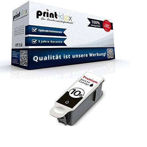 Kompatible Tintenpatrone für Kodak ESP 3 ESP 3200 ESP 3200 Series ESP 3250 ESP 5 ESP 5200 Series ESP 5210 8955916 NO10 8955916 NO 10 Black Schwarz - Office Pro Serie