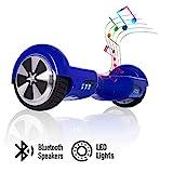 ACBK - Hover Auto-équilibré avec Roues de 6.5' (Bluetooth + Lumières LED) Vitesse Maximum: 10-12...