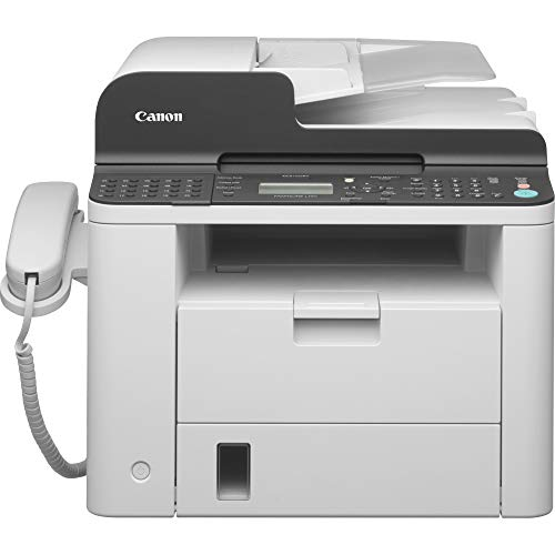 Canon FAXPHONE L190 (6356B002) Multifunction Laser Fax Machine, 26 Pages Per Minute, Includes Standard Telephone Handset