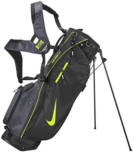 Nike Golf Stand Bag - Air Hybrid, Sports, Lite - Unisex (Sport LITE - Black/Volt (5-Divider))