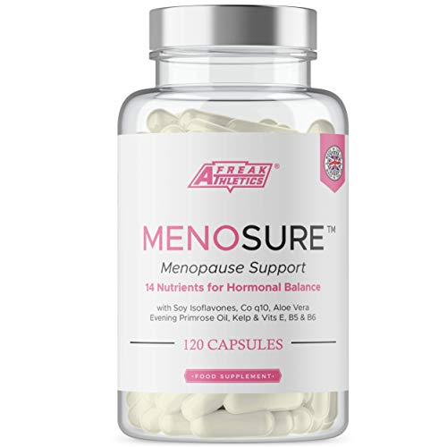 Menopause Support+ for Women - Natural Menopause Vitamins - UK Made Menopause Supplement