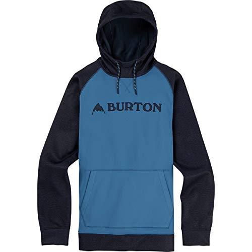 (バートン) Burton Crown Bonded Pullover Hoodie メンズ トレーナーパーカーVallarta Blue/Mood Indigo He...