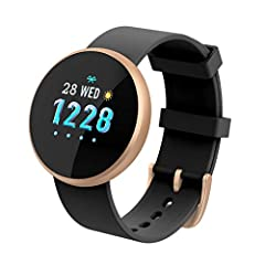 ZIHENGUO Women Professional Activity Tracker, Ultra-Thin IP67 Waterproof Sport Smart Watch met Hartslag Slaap Health Physiological Period Detection Photo*