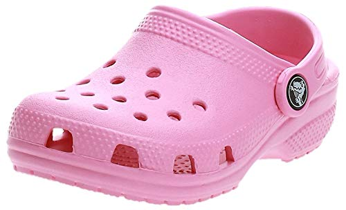 crocs Unisex-Kinder Classic Kids Clogs, Pink (Pink Lemonade 669), 27/28 EU