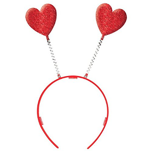 d81c526d1ef Amscan Valentine Red Plastic Heart Headbopper