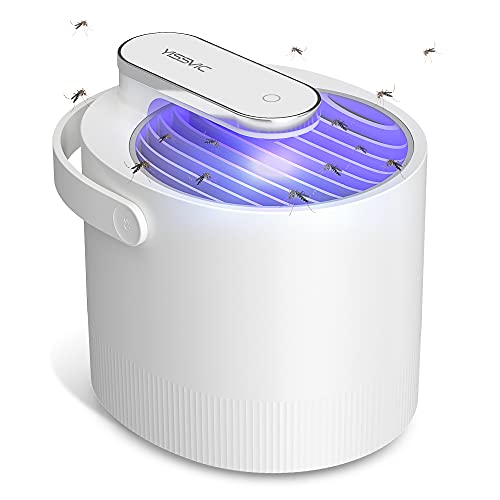 YISSVIC Fly Trap Indoor Mosquito Trap Mosquito Killer :Gnat, Moth, Bug, Fly, Fruit Fly Insects, Mosquito Killer Lamp