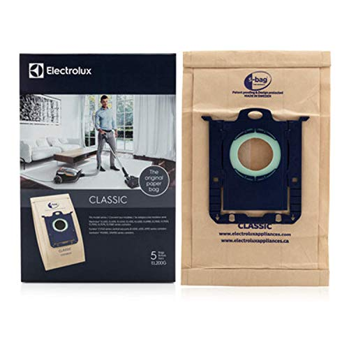 Electrolux Oxygen Canister Type S Paper Bags 5 Pk Part # El200f
