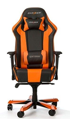 DXRacer Gaming Stuhl, OH/KS06/NO, K-Serie, schwarz-orange, das Original von DX Racer