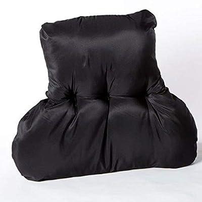 Quarry NHS Back Support Cushion | Black | H63xD30xW40-60cm