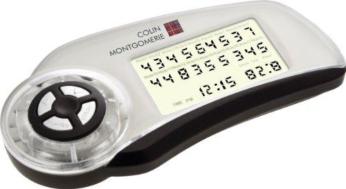 Colin Montgomerie Elektronische Golf Scorecard