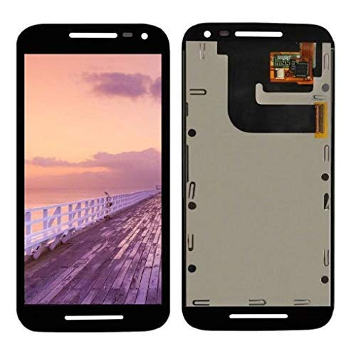 MrSpares LCD Display + Touch Screen Digitizer Assembly for Motorola Moto G3 : Black
