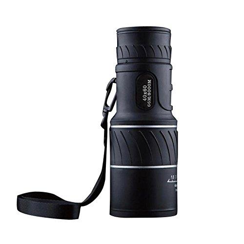 Abilie Focus Monokular 40x60 Zoom HD Nachtsicht Teleskop für Reisen Jagd Caping Wandern Sportveranstaltungen