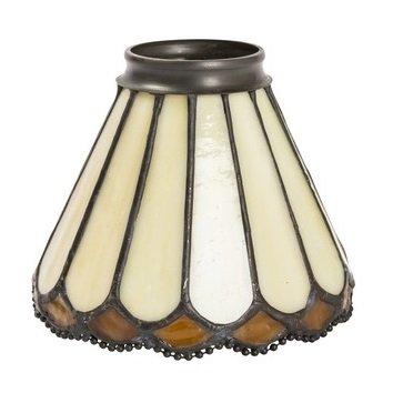 Pantalla de cristal de repuesto Tiffany para lámparas y arañas de hierro y latón