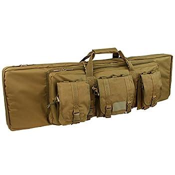 Condor 152-498 Double Rifle Case Coyote Brown 42