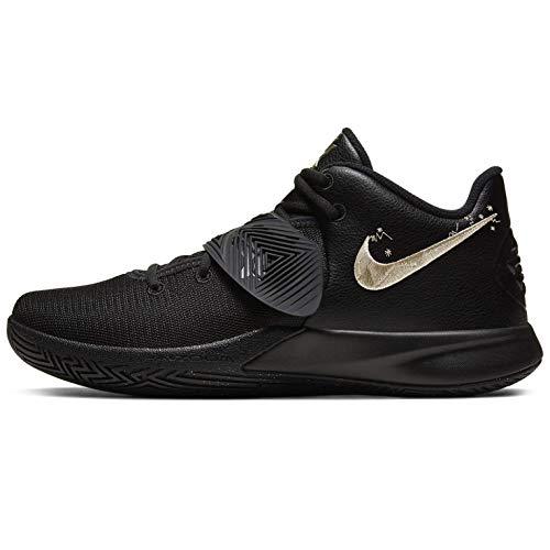 Nike Kyrie Flytrap Iii - Black/MTLC Gold Star, Größe:9.5